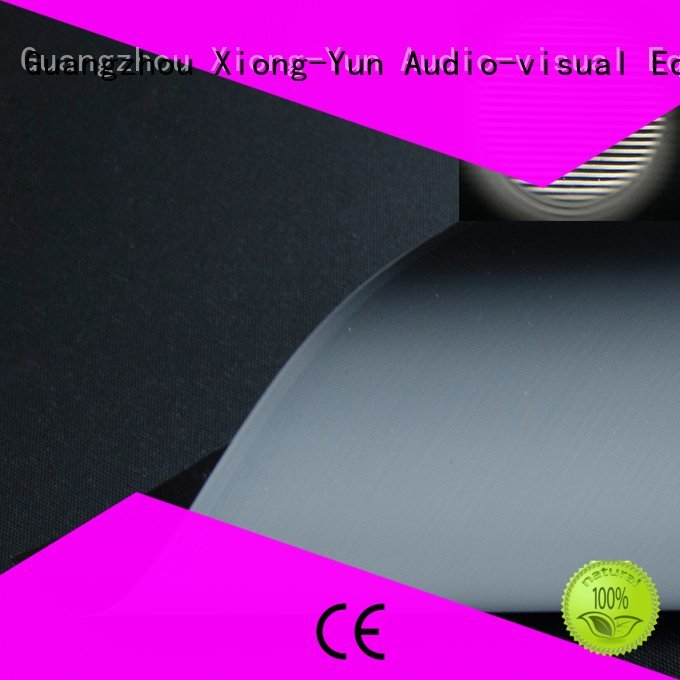 Hot matte white fabric for projection screen crystal Ambient Light Rejecting Fabrics ambient XY Screens