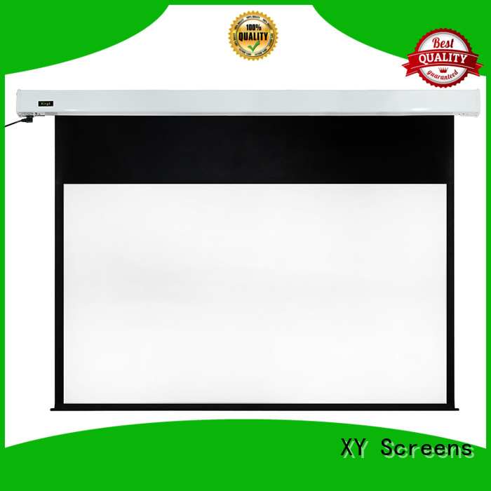 XY Screens retractable motorized screens supplier for indoors