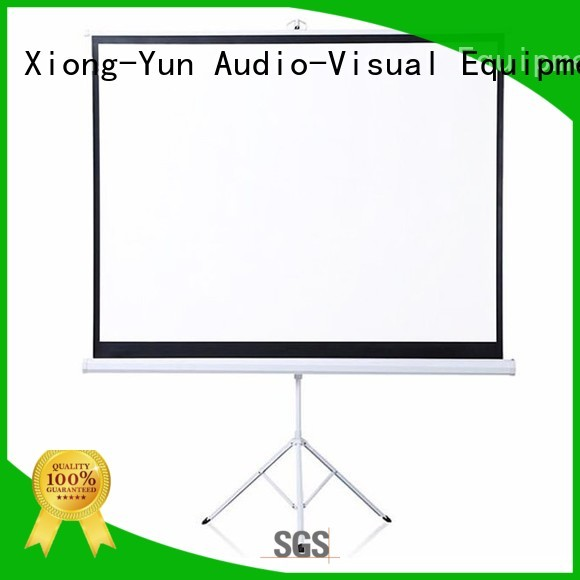 XY Screens portable tripod projector screen factory price for meeting