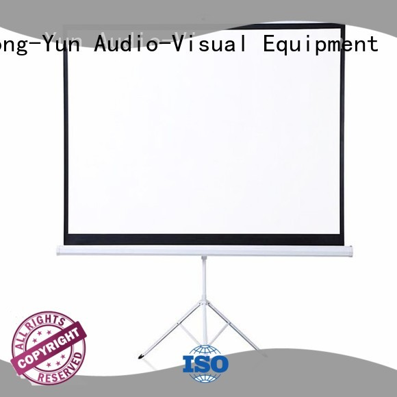 XY Screens coated portable tripod screen supplier for company