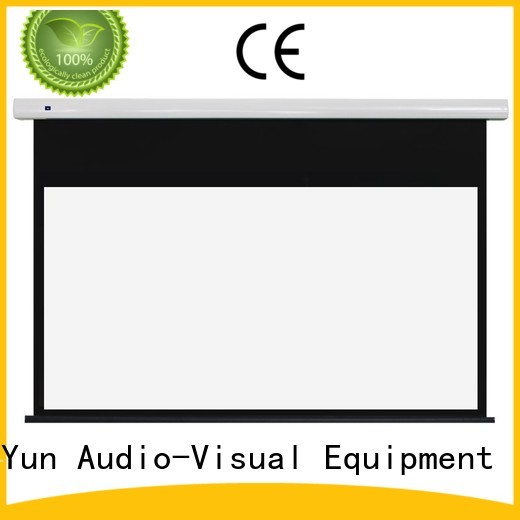 XY Screens stable motorised projector screen wholesale for rooms