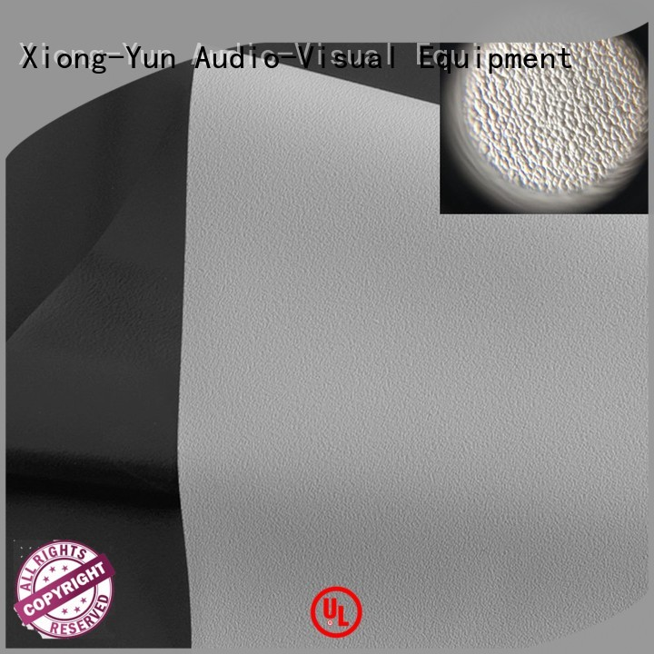 XY Screens front fabrics with good price for projector screen