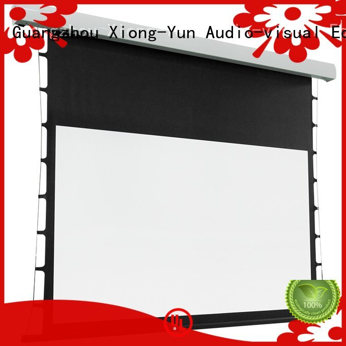 tab tensioned electric projector screen screen Warranty
