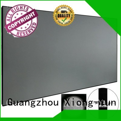 ambient light projector screen sphkblack bezel XY Screens Brand company