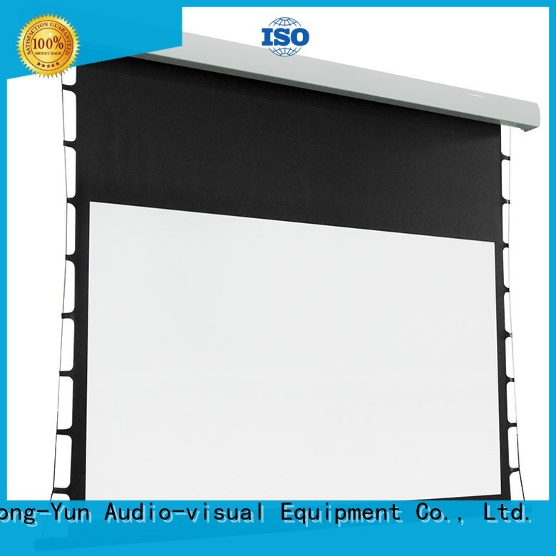 tab tensioned electric projector screen tabtensioned ec2 intelligent motorized Bulk Buy