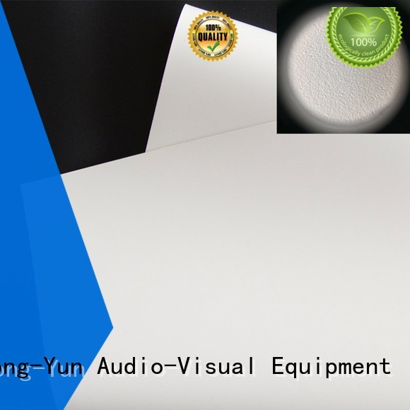 XY Screens professional front fabrics with good price for fixed frame projection screen
