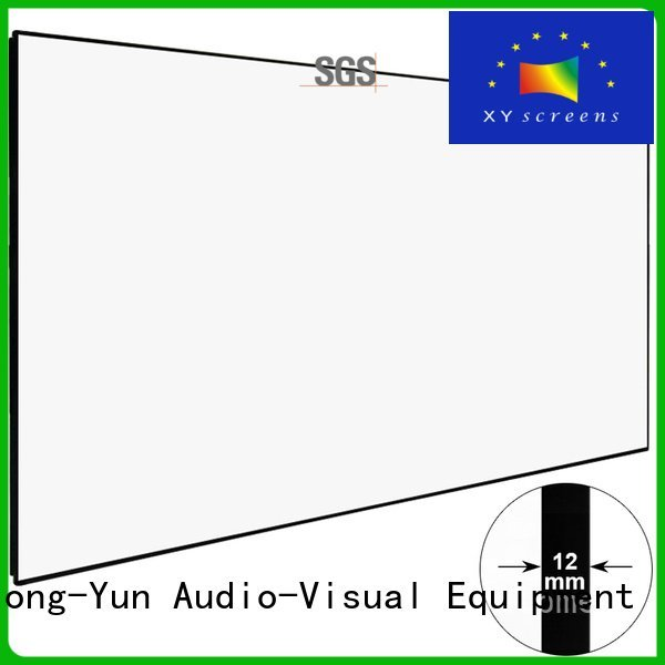 XY Screens Brand series zhk100b home hd projector screen