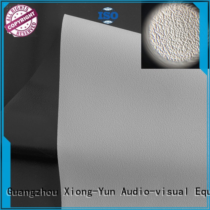 front quality XY Screens HD home theater projection screens with soft PVC fabric