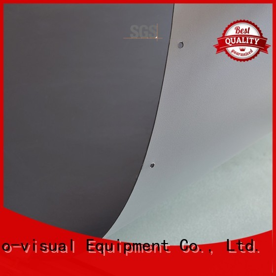 quality front and rear fabric with good price for thin frame projector screen