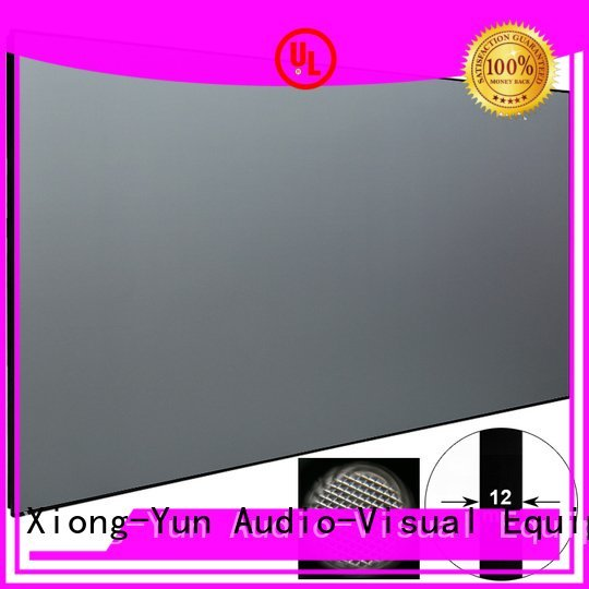 frame thin throw ultra short throw projector screen XY Screens