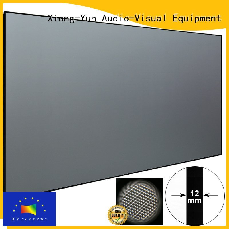 XY Screens Brand television rejecting ultra short throw projector screen sphkpet short