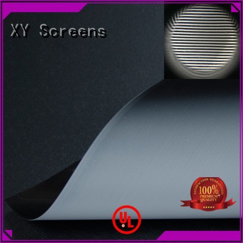 hg standard grid XY Screens matte white fabric for projection screen