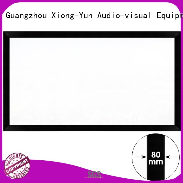 hk80c frame hd fixed XY Screens movie projector screen