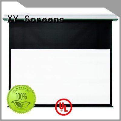 Custom Home theater projection screen hcl1 projector inceiling XY Screens
