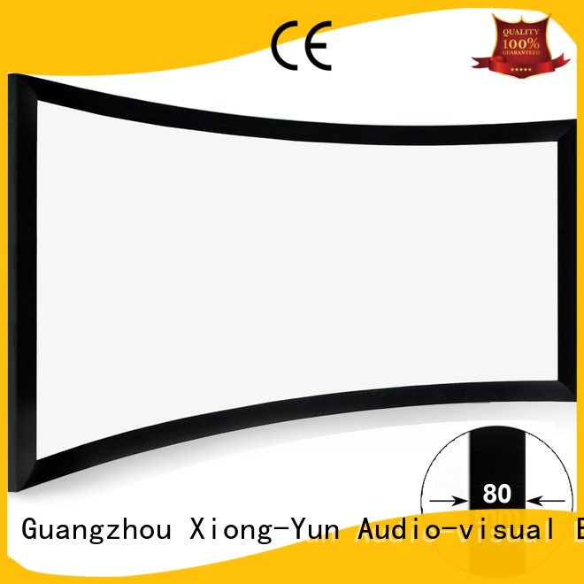 XY Screens Brand screen home entertainment center thin factory