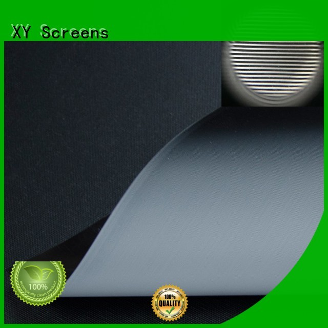 XY Screens normal projector screen fabric manufacturer for motorized projection screen