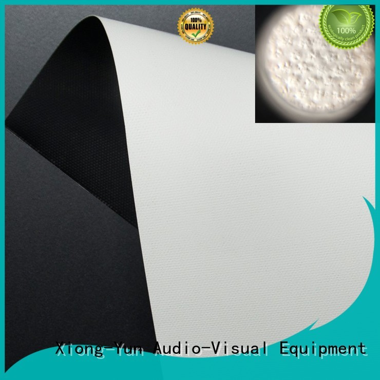 professional transparent projection screen material wrinkle free for fixed frame projection screen