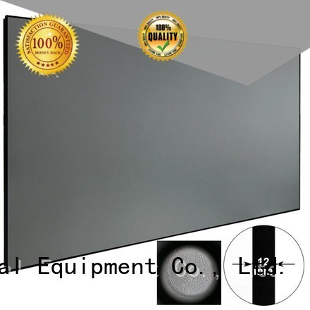ambient light projector screen slim XY Screens Brand Ambient Light Rejecting Projector Screen