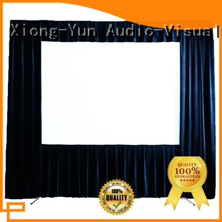 XY Screens curved outdoor projector screen supplier for park