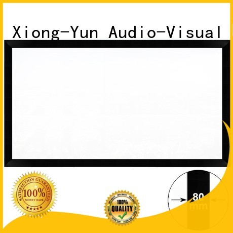 cheap movie projector fixed projection movie projector screen inch XY Screens Brand