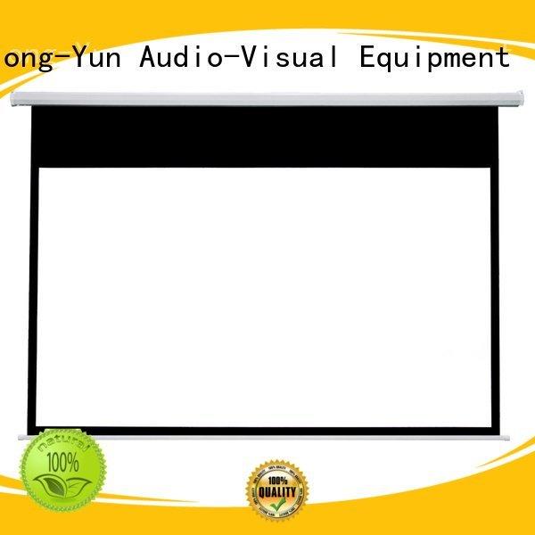 Electric Drop Down Movie Screen e300b XY Screens Brand Motorized Retractable Projector Screen