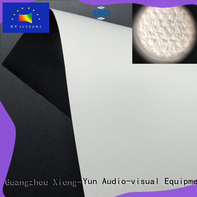 XY Screens projector screen fabric china with good price for fixed frame projection screen