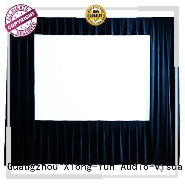XY Screens outdoor projector screen factory price for public