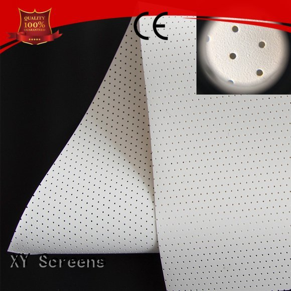 acoustic fabric woven Acoustically Transparent Fabrics XY Screens Brand