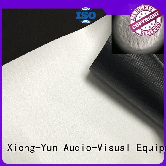 professional projector fabric inquire now for fixed frame projection screen