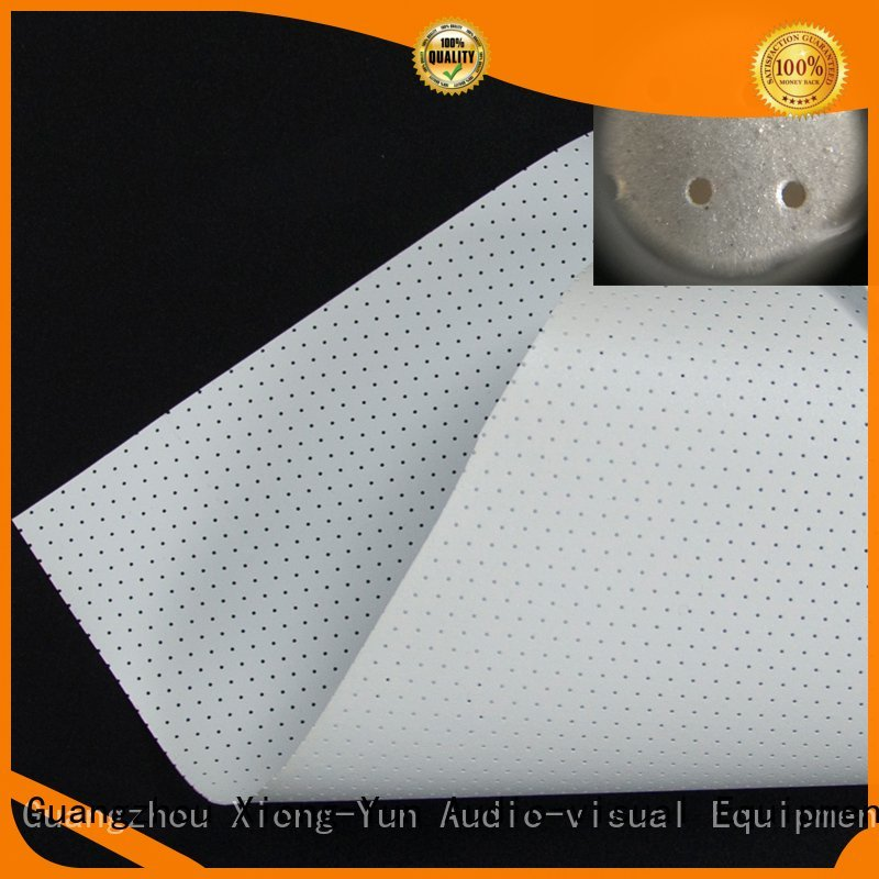 acoustic fabric max fabric Acoustically Transparent Fabrics XY Screens Brand
