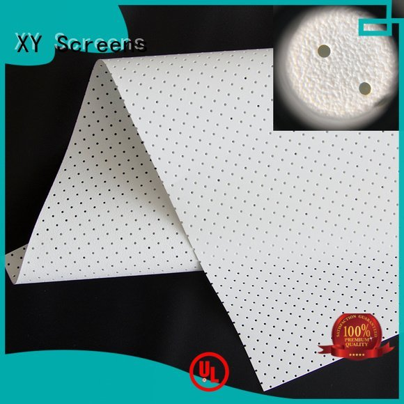 Hot acoustic fabric max hd woven XY Screens Brand