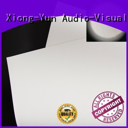 XY Screens normal front and rear fabric factory for projector screen