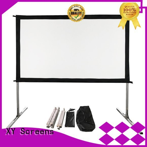 outdoor pull down projector screen projection outdoor projector screen XY Screens