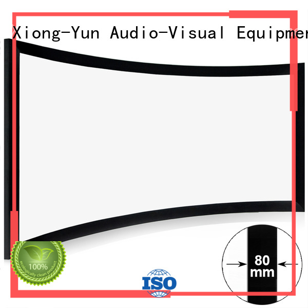 mini curved home theater screen factory price for home cinema