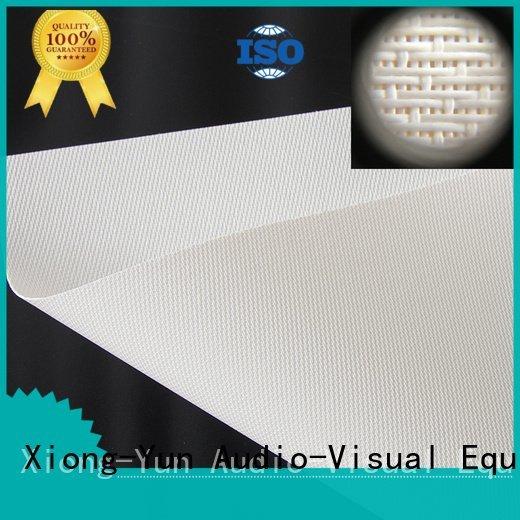 XY Screens acoustic fabric transparent fs1 max2 max