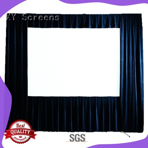 XY Screens outdoor projector screen factory price for outdoor