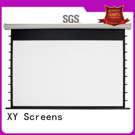 Electric Drop Down Movie Screen motorized down screen inch