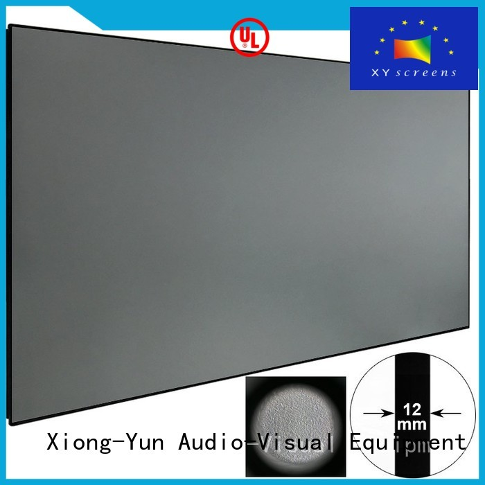 XY Screens easy installation best projector for ambient light supplier for indoors