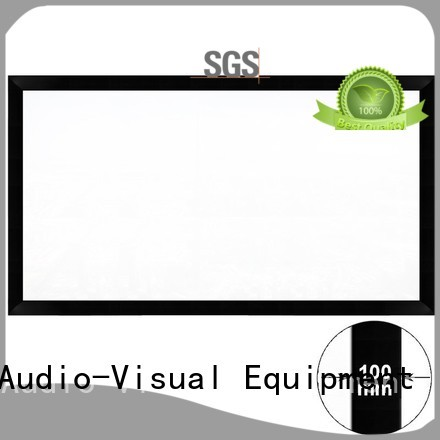 Custom frame projector screen price large XY Screens