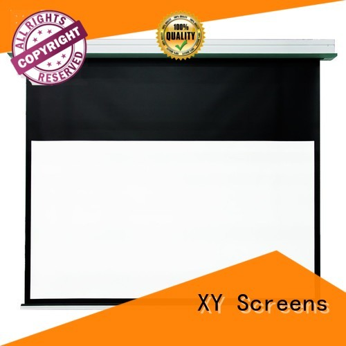 XY Screens electric theater screen factory for household