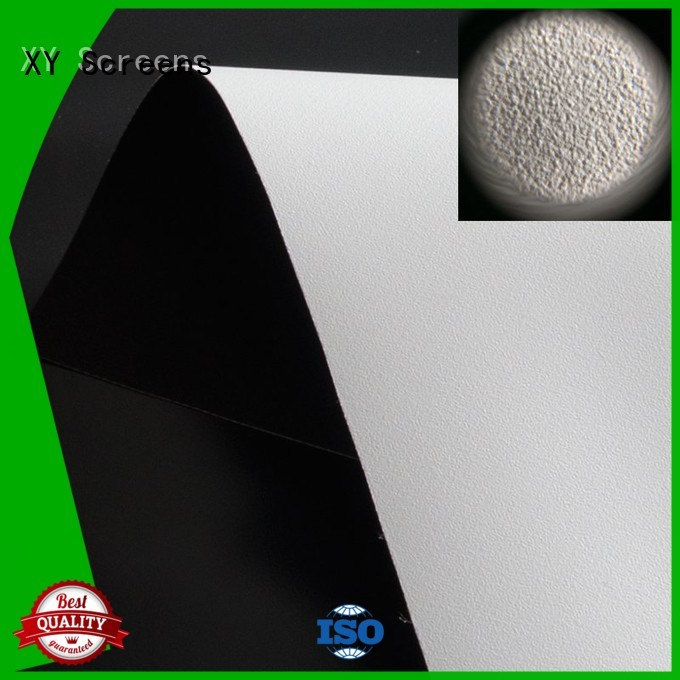 standard projector fabric with good price for thin frame projector screen