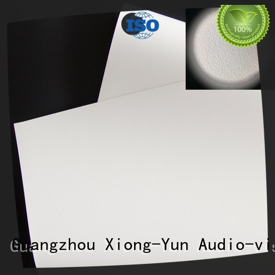 front and rear fabric white for fixed frame projection screen XY Screens