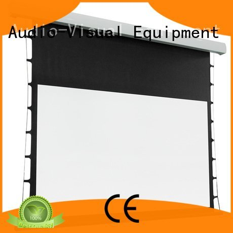 tab tensioned electric projector screen ec1 intelligent Tab tensioned series