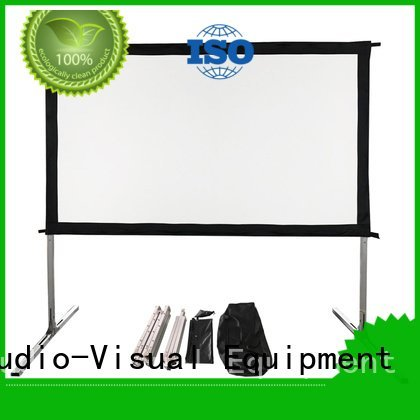 Quality outdoor pull down projector screen XY Screens Brand ff1 outdoor projector screen