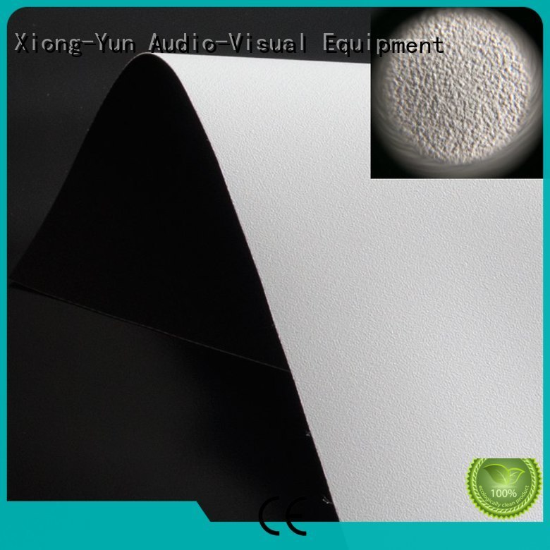 XY Screens projector screen fabric china design for motorized projection screen