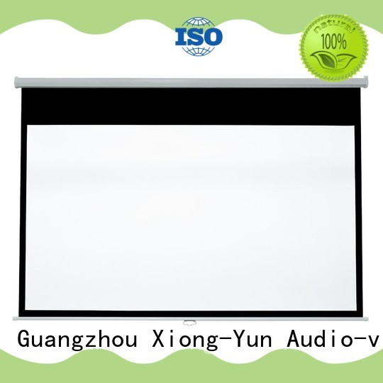 XY Screens pull down projector screen inquire now for students