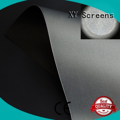 matte white fabric for projection screen rejecting fabric OEM Ambient Light Rejecting Fabrics XY Screens