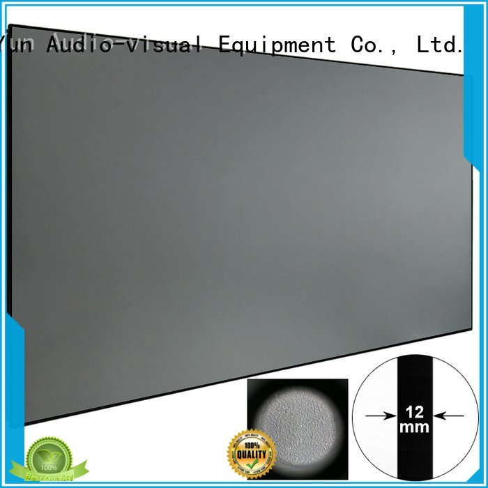 Custom Ambient Light Rejecting Projector Screen slim ambient bezel XY Screens