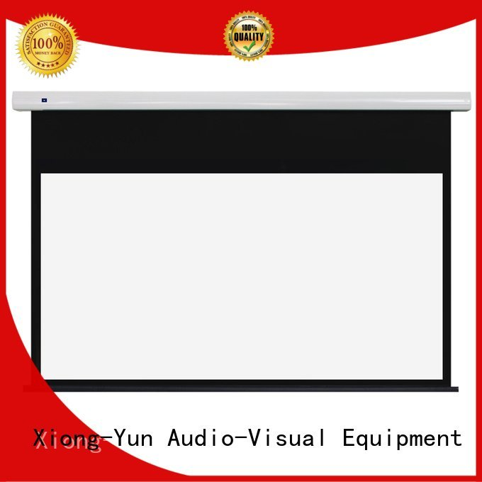 screen ec1 home XY Screens Standard motorized series