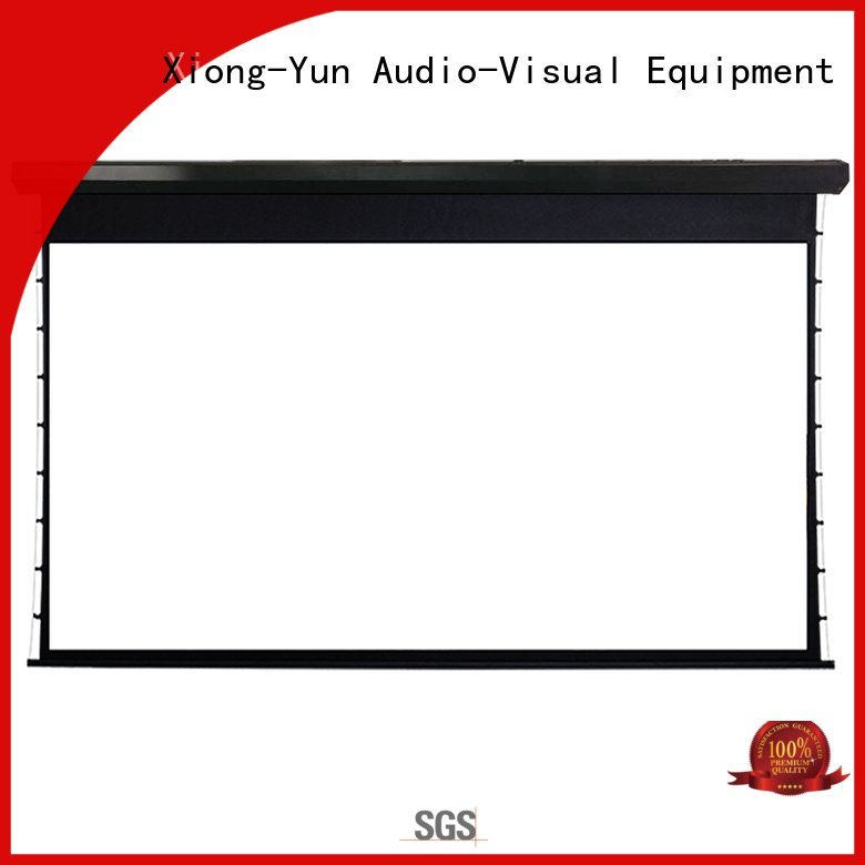 XY Screens lc2 project large portable projector screen ec150 motorized